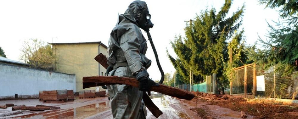 В июне уровень загрязнения воздуха в Омске был высоким, а в воде плавали пестициды