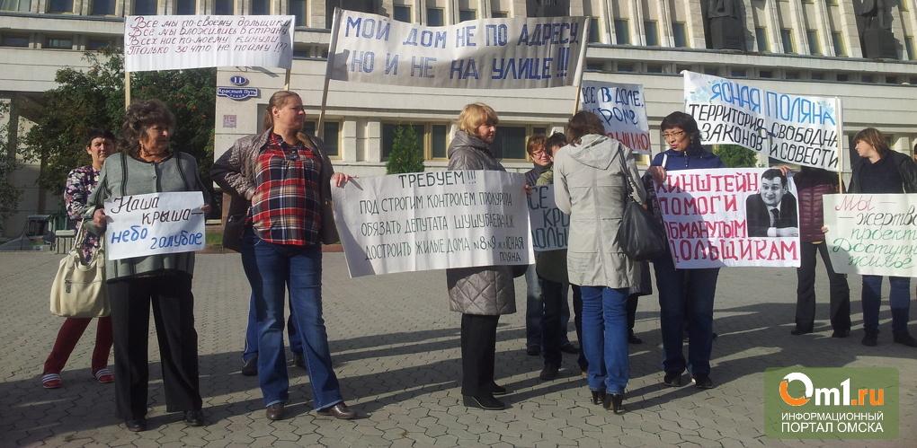 Омск вышел в лидеры по числу долгостроев и обманутых дольщиков