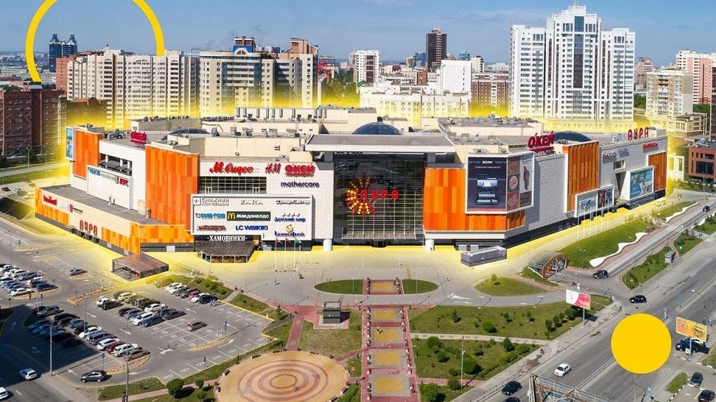 Около торгового центра Новосибирска открылся кинотеатр