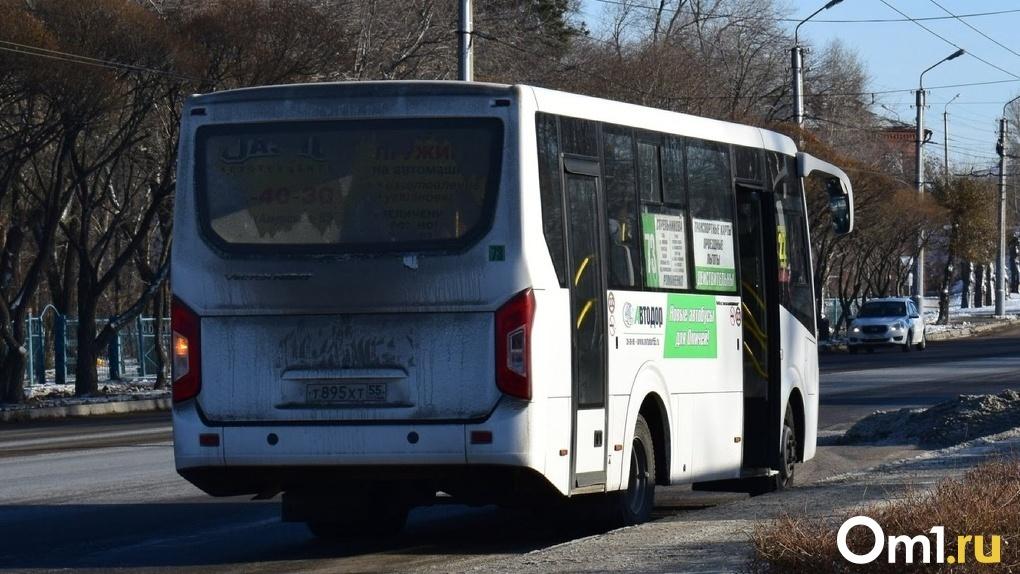 В Омске 95-й автобус сбил пешехода