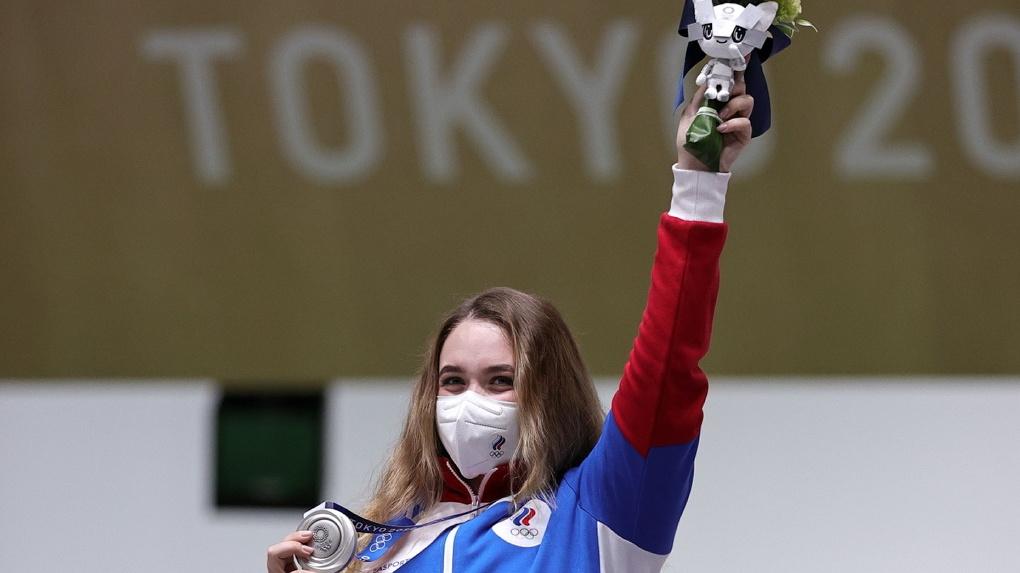 Россиянка завоевала первую медаль на Олимпийских играх в Токио