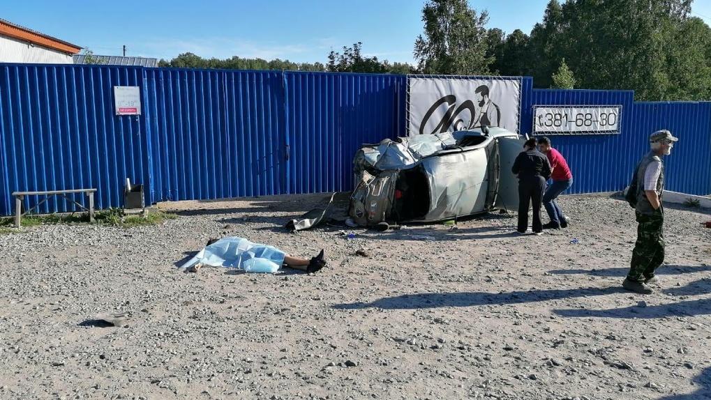 В Новосибирской области двое подростков погибли в страшных ДТП