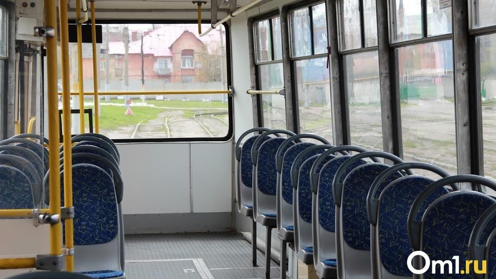 В Омске изменятся схемы движения трамваев