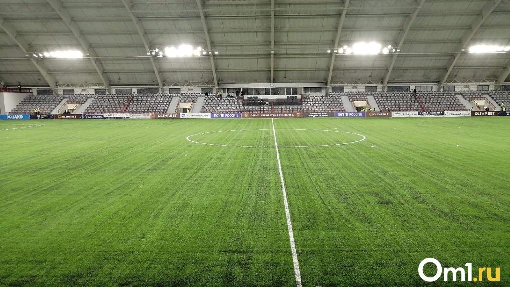 Омский футбольный клуб заплатит ещё 130 тысяч из-за болельщиков без масок и невнимательную охрану
