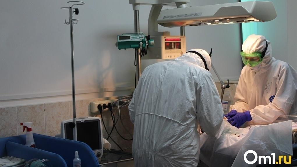 В Омске резко увеличилось число «коронавирусных» пациентов в критическом состоянии