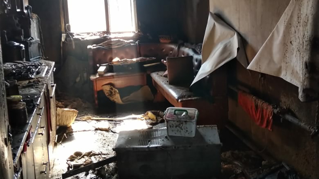Взрыв газа уничтожил дом под Новосибирском