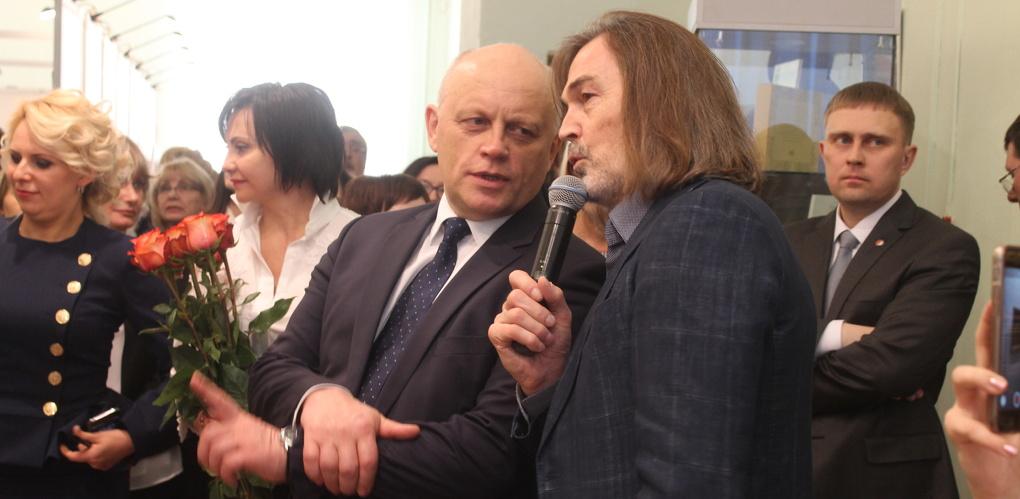 Никас Сафронов намекнул, что собирается написать портрет Виктора Назарова