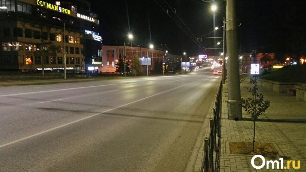 За первые сутки самоизоляции в Омске не произошло ни одного ДТП