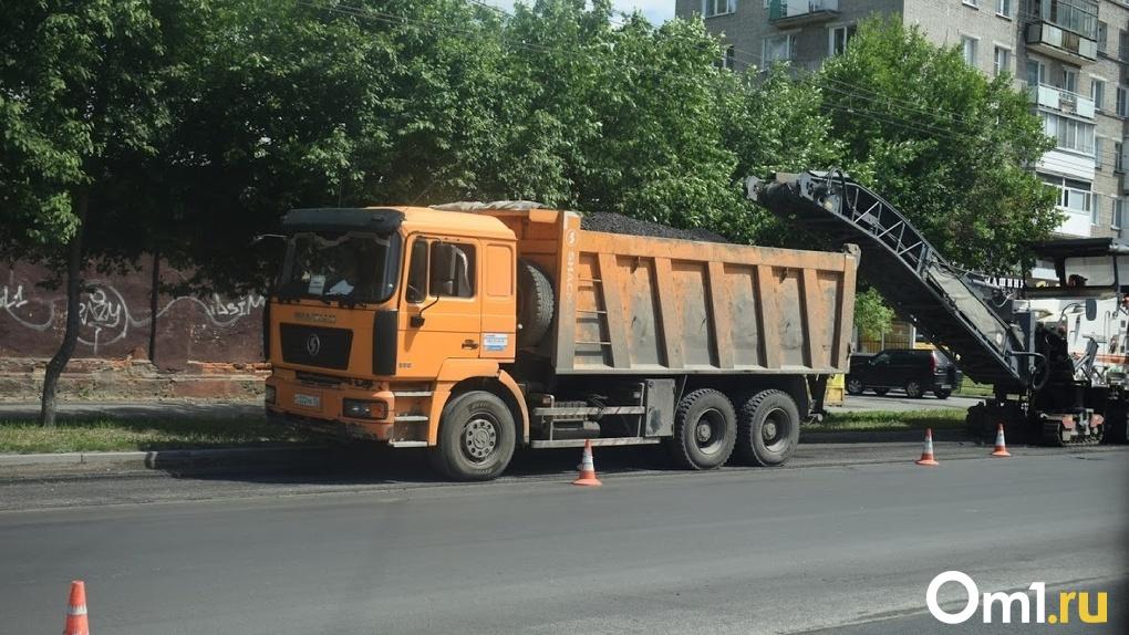 Ремонт дорог в Омской области ведут с опережением графика