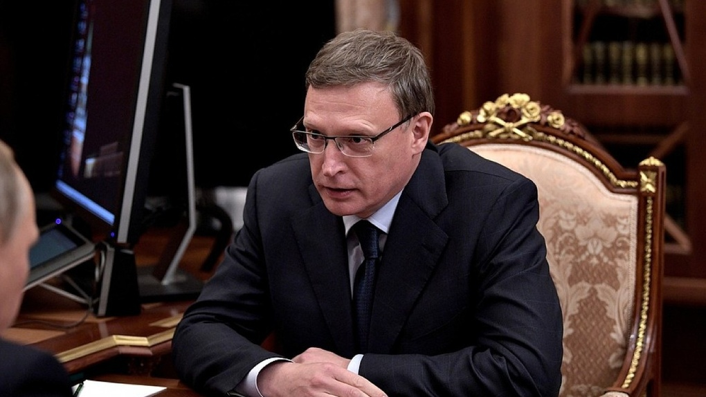 Бурков будет врио губернатора Омской области до сентября 2018 года