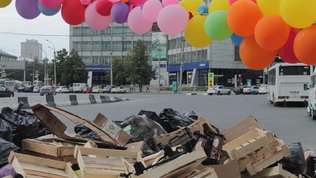 Новосибирцев шокировала свалка возле станции метро «Заельцовская»