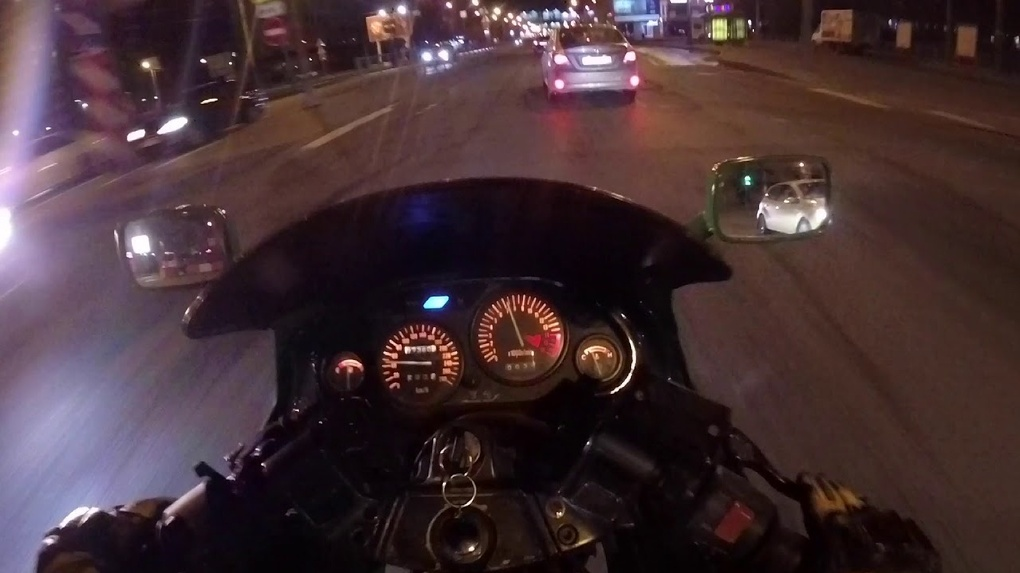 В Омске полицейские устроили погоню за подростком-мотоциклистом