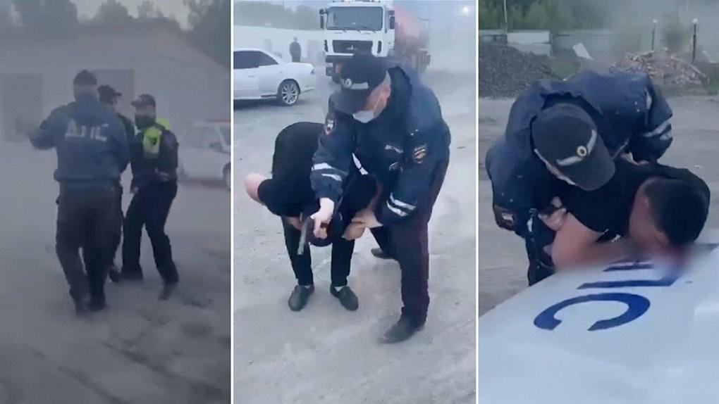 Предлагали застрелиться: новые угрозы поступили новосибирскому полицейскому за гибель задержанного