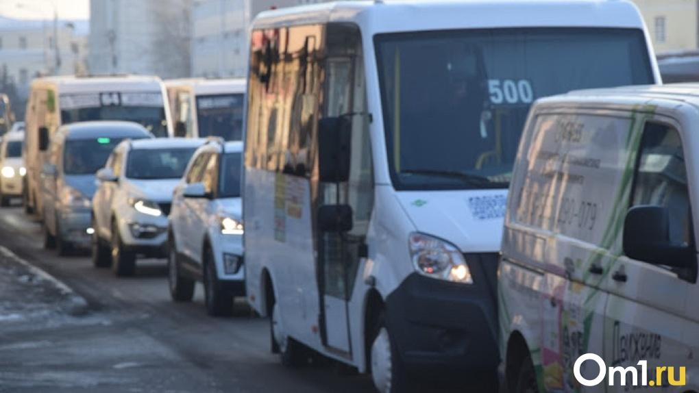 Омские чиновники ликвидируют пробку на Красноярском тракте