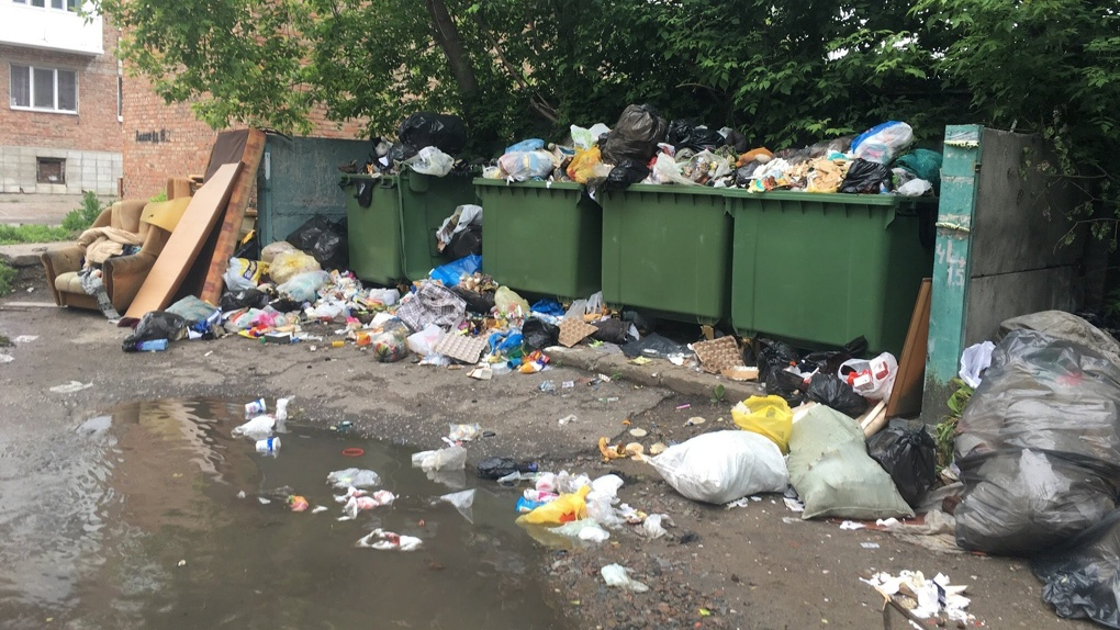 Два новосибирских перевозчика расторгли контракты на вывоз мусора из-за долгов регионального оператора