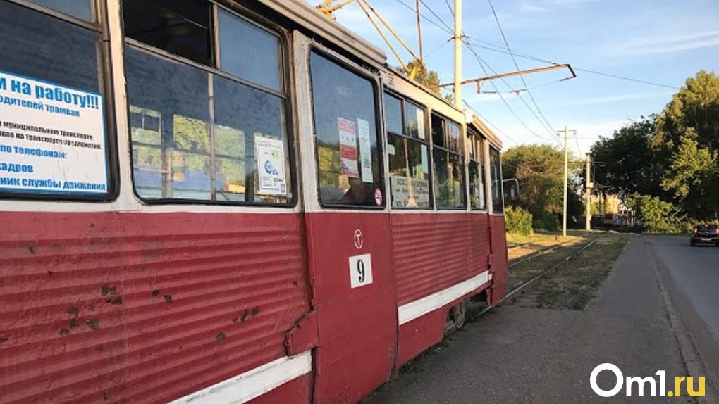 По улице Лермонтова в Омске снова перестанут ходить трамваи