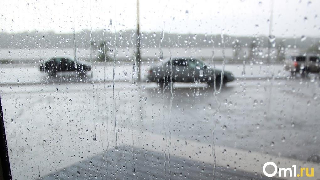 На Омск надвигается непогода с грозами и порывами ветра