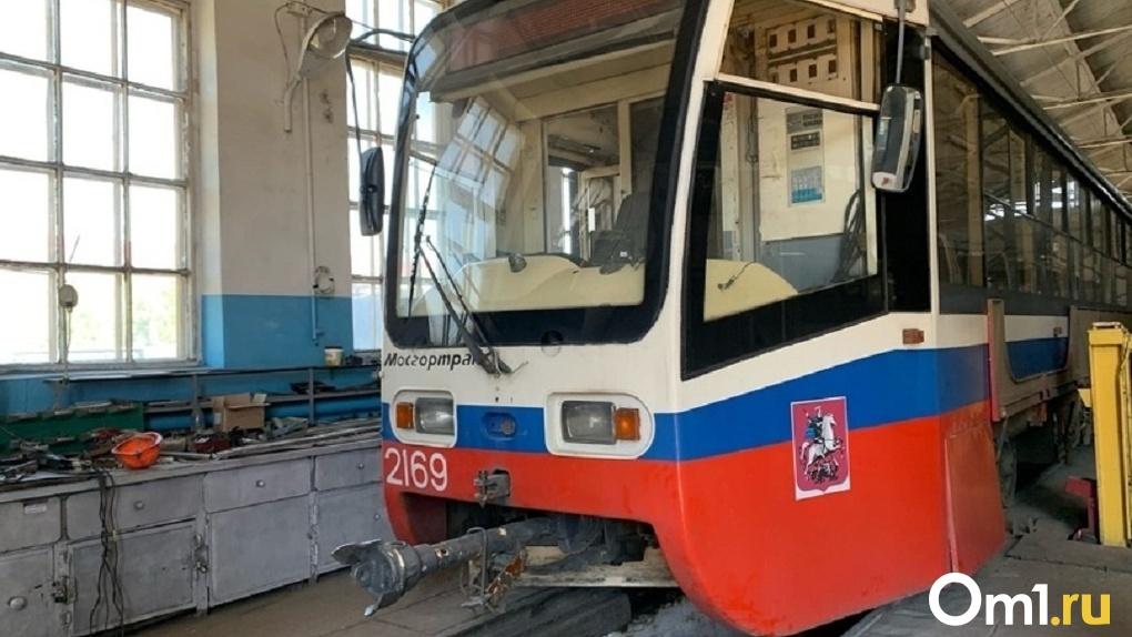 В омских трамваях по утрам будут бороться с холодами