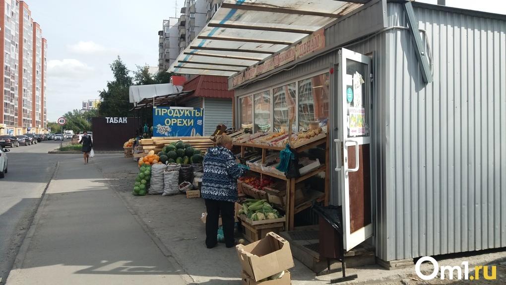 Новосибирских предпринимателей выселят с городских дорог в 2020 году