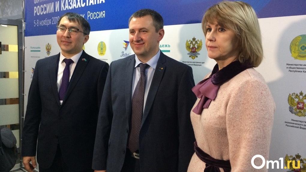 В Омске прошло торжественное открытие форума молодежных лидеров России и Казахстана
