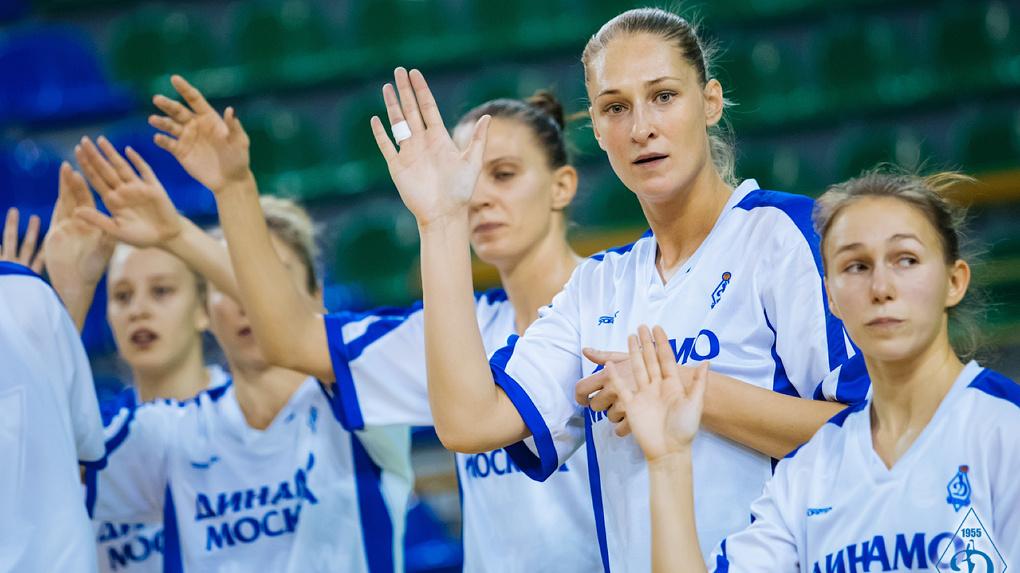 Новосибирские баскетболистки одержали победу над оренбургской «Надеждой» на чемпионате России