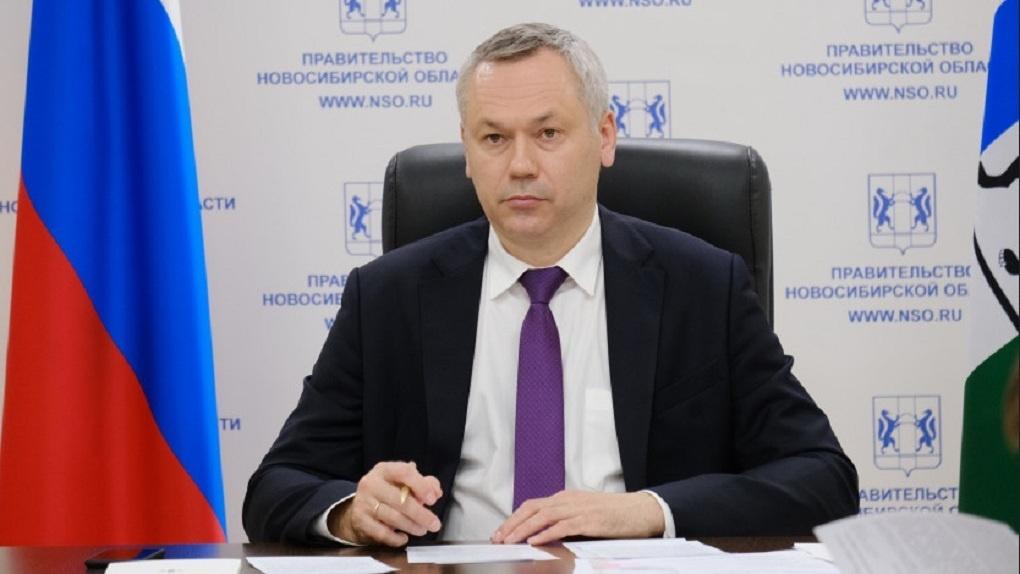 Губернатор Новосибирской области занял 55 место в рейтинге цитируемости в соцсетях