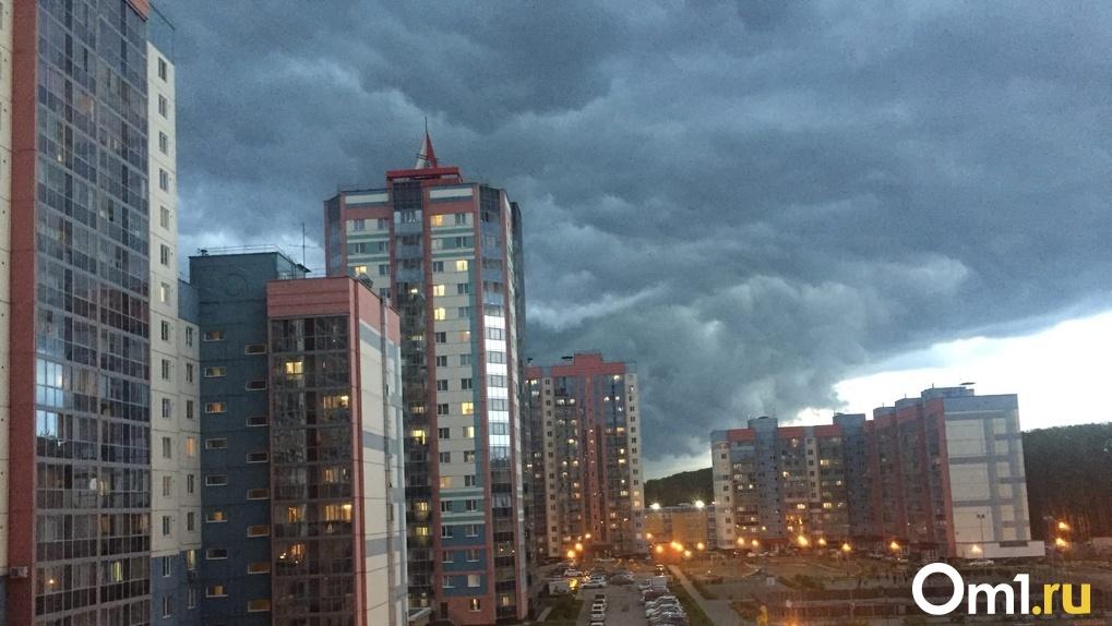 Четырёхдневные грозы надвигаются на Новосибирск