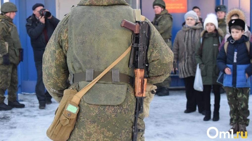 Омского срочника отправили под арест за отказ идти в наряд