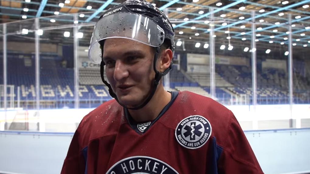 «Соскучились по льду»: защитник ХК «Сибирь» поделился впечатлениями от первой тренировки после карантина