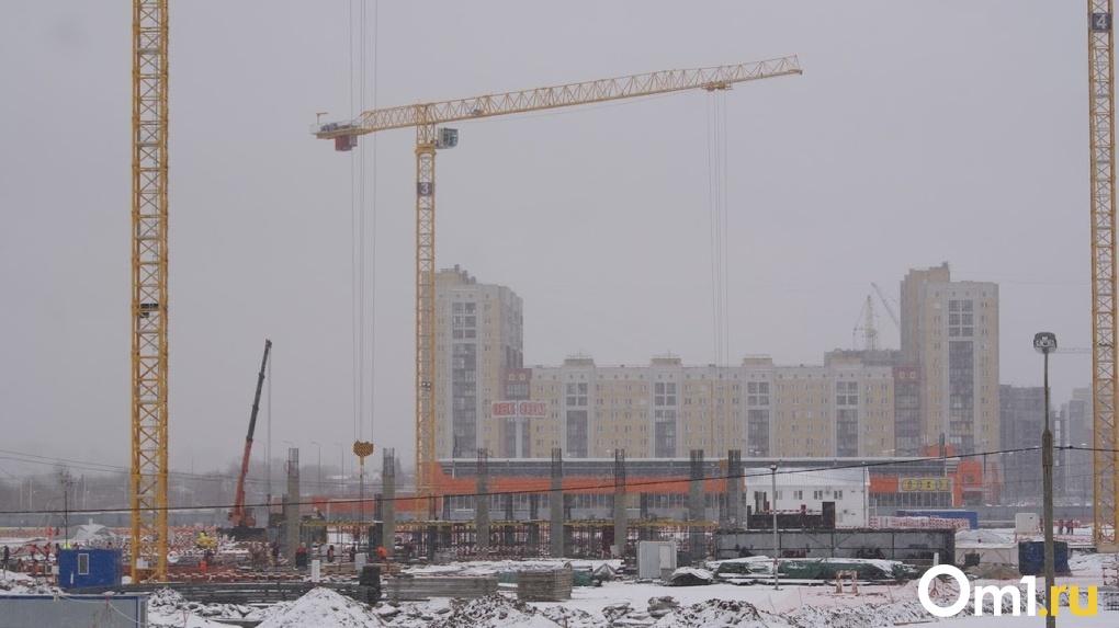 На «Арене Омск» приступили к строительству первого этажа