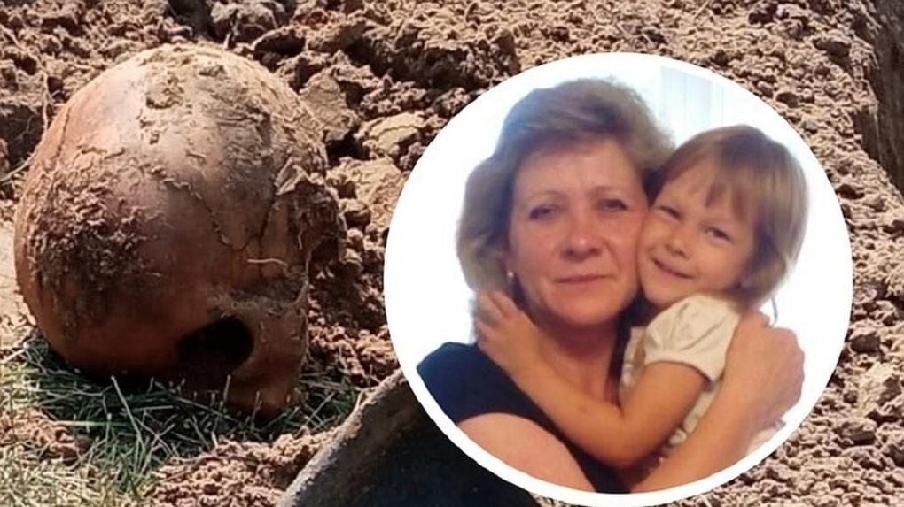 Археологическая сенсация: жительница Новосибирской области выкопала на даче останки человека