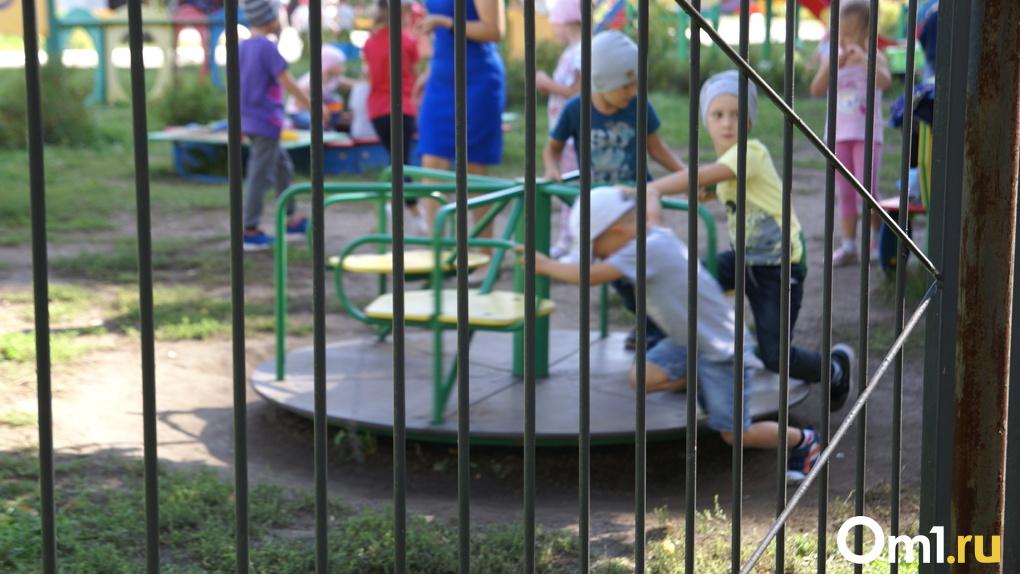 Детские площадки в Омске изготавливают осуждённые колоний