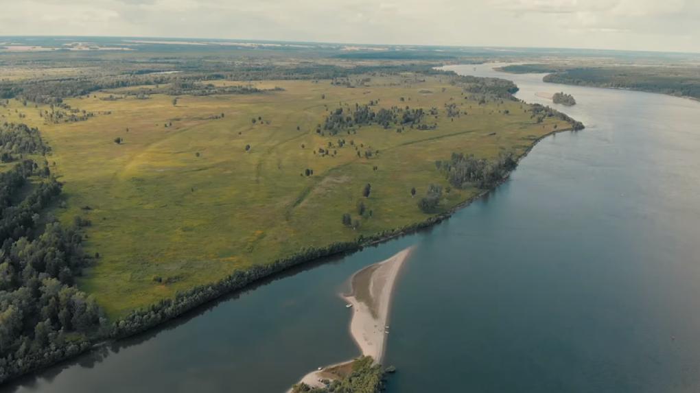 Новосибирец снял ролик о загадочных островах области