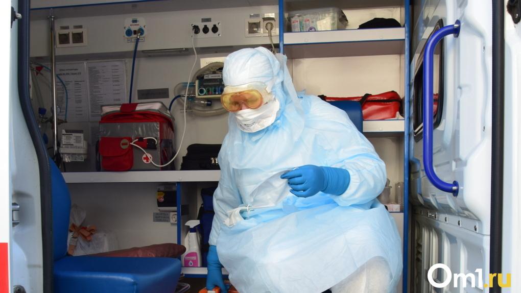 В Марьяновском районе Омской области за сутки выявили больше всего заражённых COVID-19