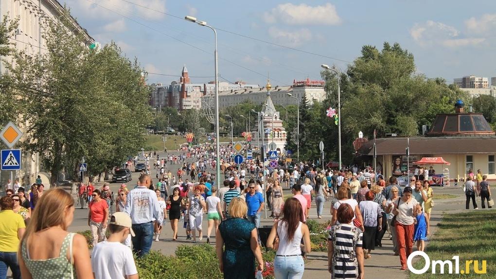 Индекс самоизоляции: на улицах Омска столько же людей, сколько было до начала пандемии