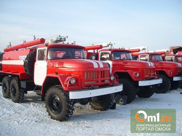 Празднование 23 февраля в Омске закончилось пожаром в бане