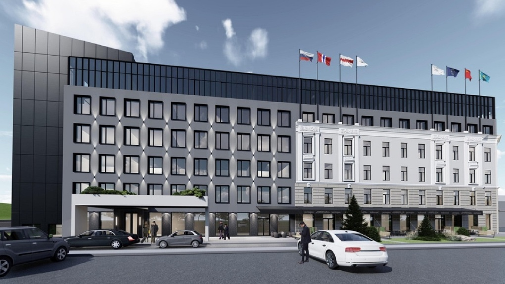 Проект четырехзвездочного отеля в Омске изменили