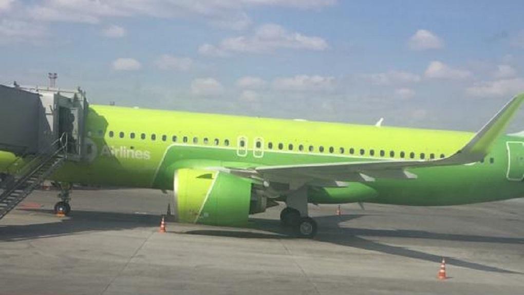 Из-за сильного тумана московский самолёт совершил аварийную посадку в аэропорту Новосибирска