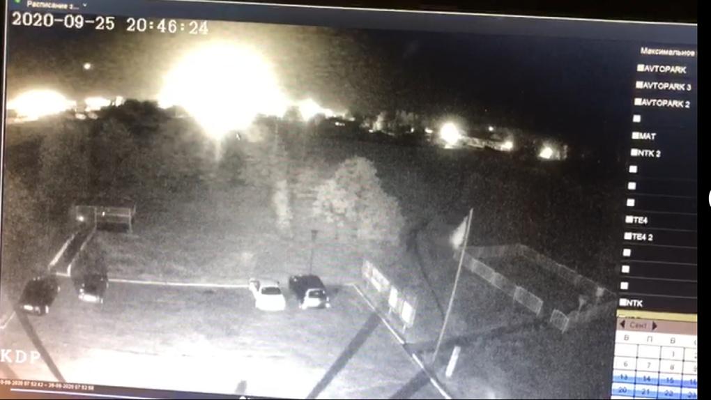 Появилось видео последних секунд полёта разбившегося под Харьковом военного самолёта Ан-26Ш
