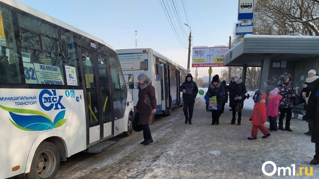 Стало известно, на какие маршруты в Омске выпустили 95 дополнительных автобусов