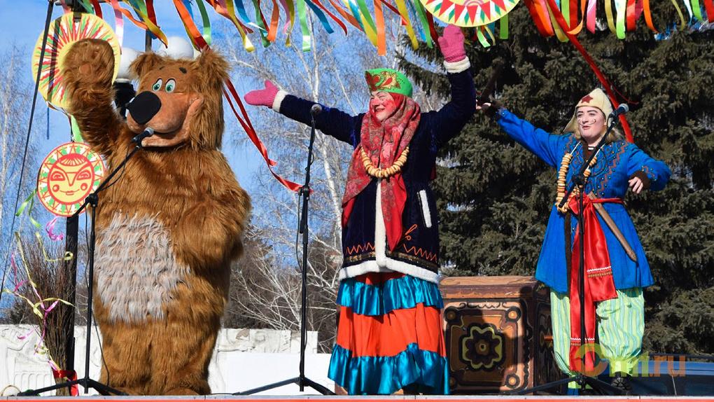 Масленица в Омске: как горожане зиму провожали — ФОТО