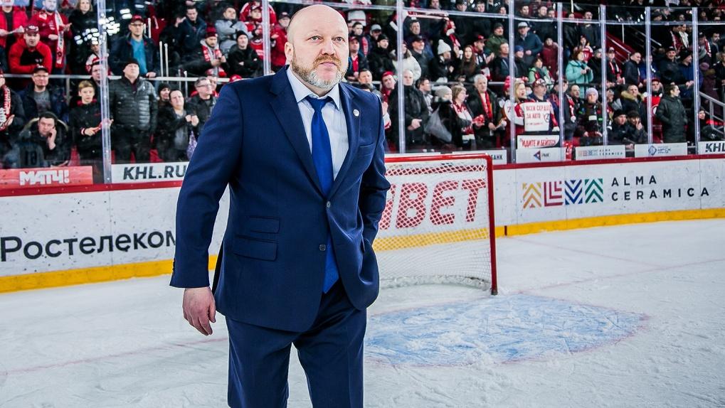 «12 потерь»: главный тренер ХК «Сибирь» прокомментировал провальный матч с «Салаватом Юлаевым»