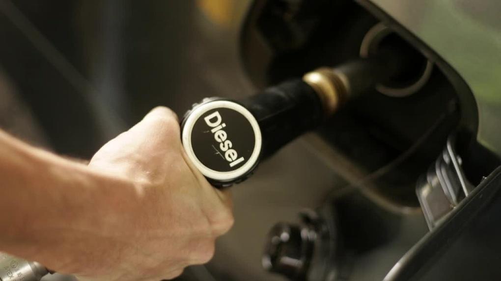 В Омске дорожает дизельное топливо