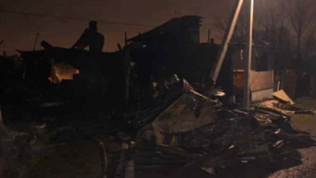 Страшный пожар унёс жизни двух мужчин в Первомайском районе Новосибирска