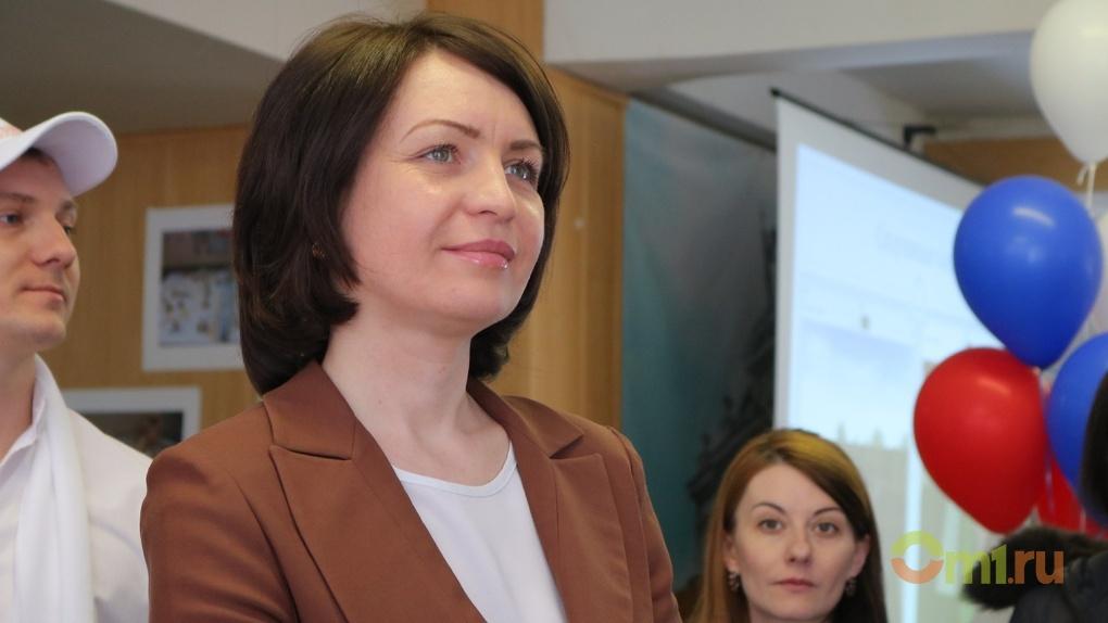 Мэр города Омска Оксана Фадина взлетела в медиарейтинге