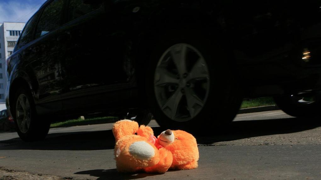 В Омской области мать сбила на машине своего трехлетнего сына