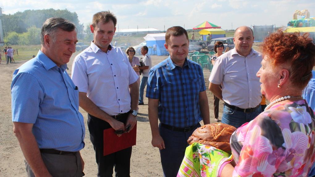 Село Ворошилово Полтавского района отметило 105-летний юбилей