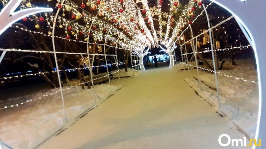 Названа дата официального открытия главной новогодней площадки Новосибирска