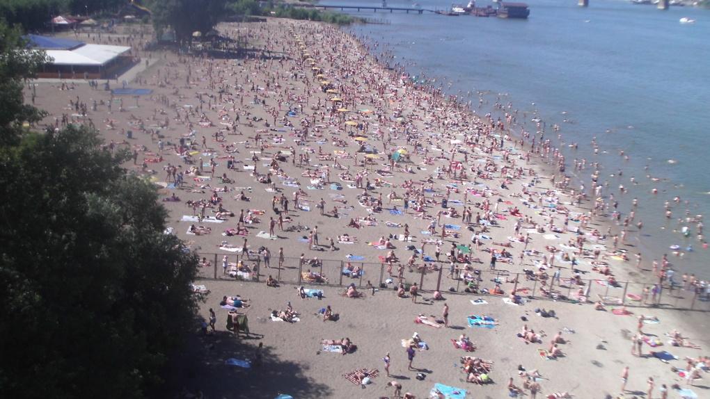 Новосибирский пляж «Наутилус» закроют на два года из-за строительства ЛДС