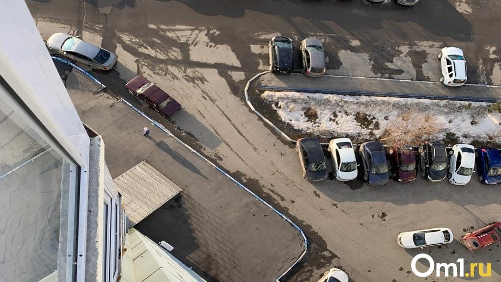 Ножевое ранение или падение с высоты? В омских Нефтяниках под окнами многоэтажки нашли труп